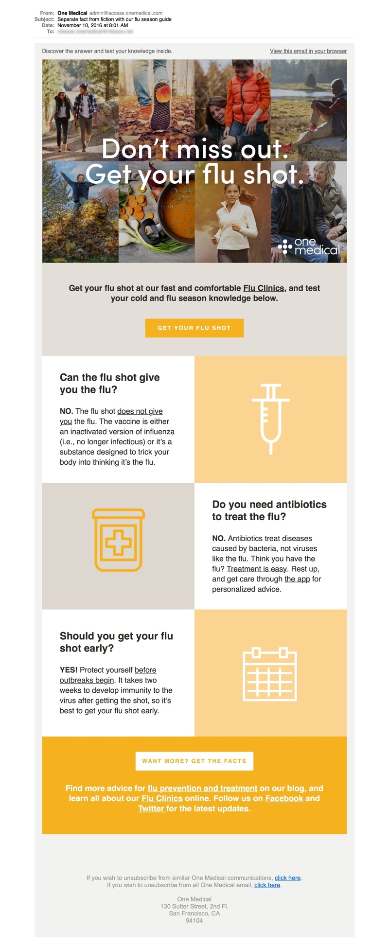 communication in healthcare_email marketing idea
